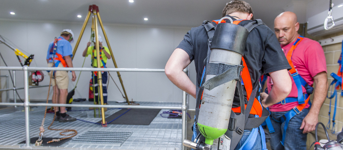 Some Benefits of Confined Space Training